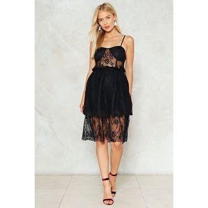NWT Lace Midi dress
